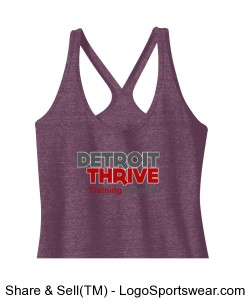 Womens Racerback Tank Design Zoom