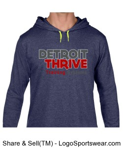 Mens Lightweight Hoodie Design Zoom